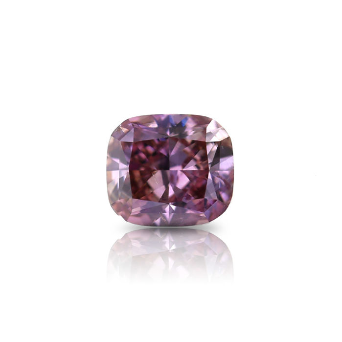 1.02 ct. Exceptional Natural Fancy Brownish Pink Cushion Modified Brilliant Cut Diamond, GIA Certified