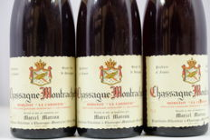 1979 Chassagne Montrachet 'Morgeot la Cardeuse'  1er Cru, M. Moreau France 3 Bottles