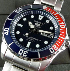 Seiko Automatico 23 Jewels 'Pepsi Style'  - Men's Automatic Watch