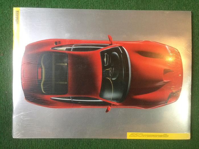 Catalogue of presentation of the Ferrari 550 Maranello - new in blister
