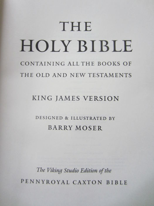 Barry Moser (ill ) - The Holy Bible  King James Version