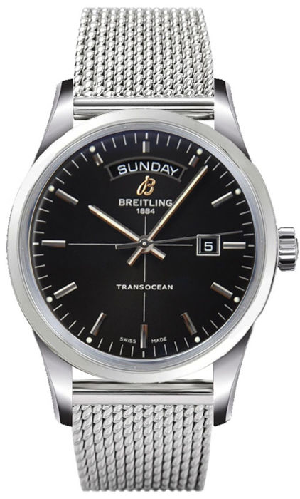 Breitling - Transocean Day Date - A4531012-BB69-154A - Men - New