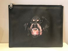 Givenchy - Rottweiler clutch bag