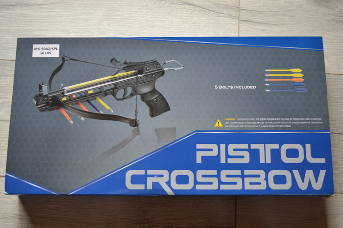 crossbow pistol trident 50 LBS - Catawiki