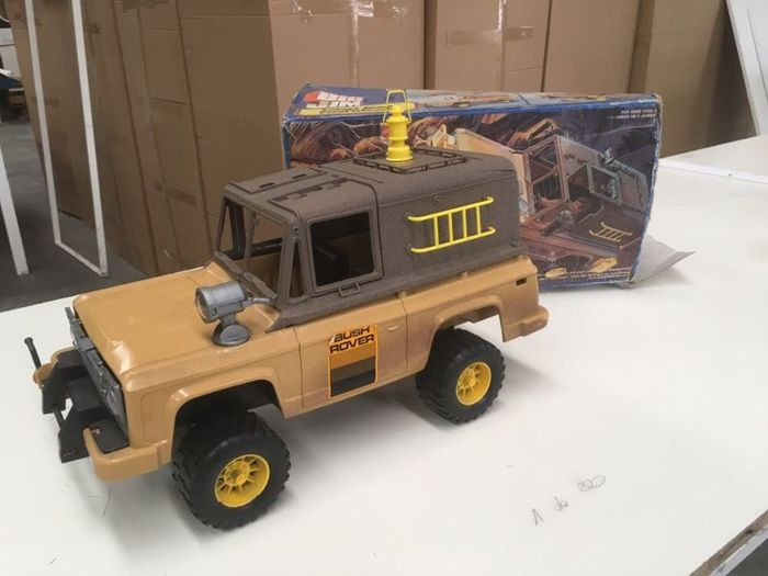 big jim jeep safari truck fuoristrada ref 2268 mattel