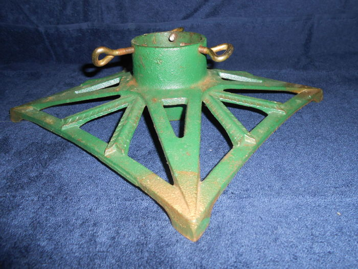 Old large Christmas tree stand Art Nouveau