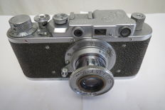 "The very first ""FED"". Prototype of ""Leica II""."