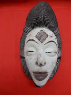 PUNU Mask (also called BAPUNU) - GABON