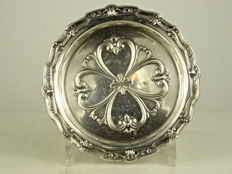 Silver cabaret, probably Italy, 19th century