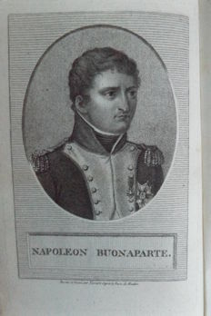 Napoleonitica:  Lot with three special books concerning Napoleon - 1814/1836