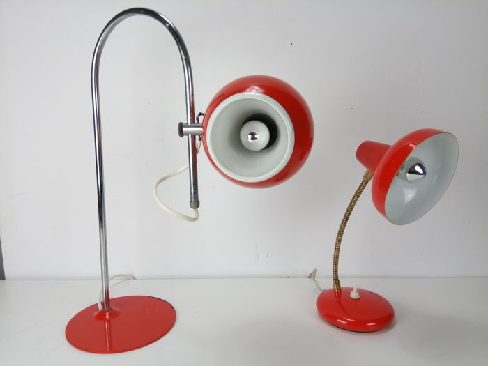 Unknown designer - Table light (2x)
