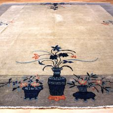 Antique carpet, Beijing, China, 290 x 255 cm