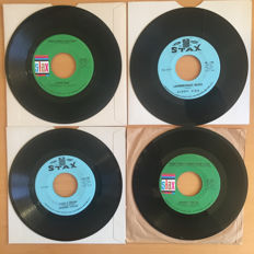 Memphis Stax Soul Singers - Albert King and Johnnie Taylor - Lot of 14 original 45 RPM singles - (1966/1968)