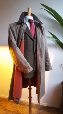 Bugatti - Men's coat with zippable lining
