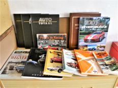Various automobile books 13 pieces