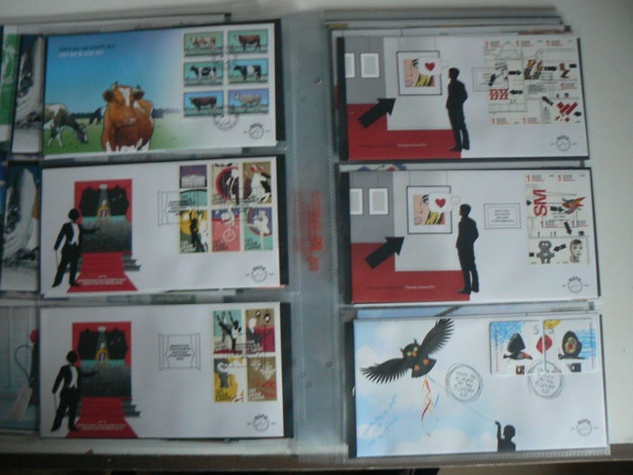 Netherlands 2012/2013 - Two complete volumes of FDCs