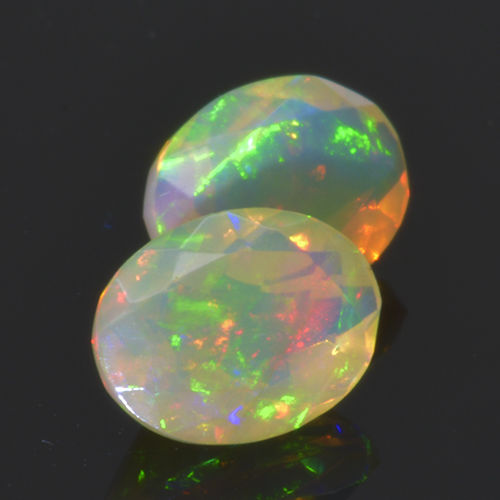 2 Opal - 1.42 ct. - No Reserve Price