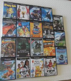 lot of 19 gamecube  like  Xg 3: Extreme G Racing + Tony hawk 's + underground ect