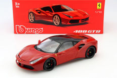 Bburago Signature Series - Scale 1/18 - Ferrari 488 GTB - Red