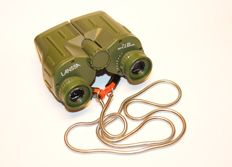 LANSSA 7x35 367ft. at 1000yds binoculars Protective layer of rubber in military green colour, see information