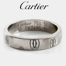 Cartier - Women's 18ct White Gold Ring