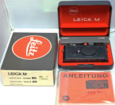 Leica M6 black + Summicron M 50mm F2.0 in mint condition including EVER READY CASE