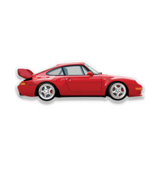SL - Wall Scale Model Halmo Collection Porsche 993 RS