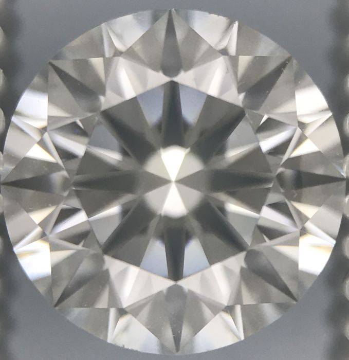2.01 Round Brilliant Diamond F VS1 3EX  GIA-Low Reserve Price -#2287