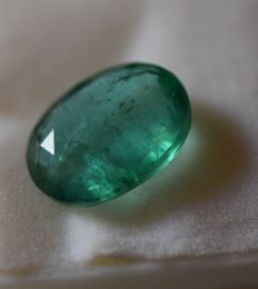 Emerald -3.78  ct - Low  reserve price