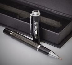 Tag Heuer Carbon fibre Pen with Box  - 2017 -  No Reserve Price