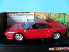 Hot Wheels - Scale 1/18 - Ferrari GTO 1984 - Red