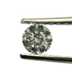 0.40 ct - Brilliant - F - SI1