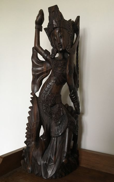 Indonesian woodcarving - year unknown - Indonesia - second half 20th century