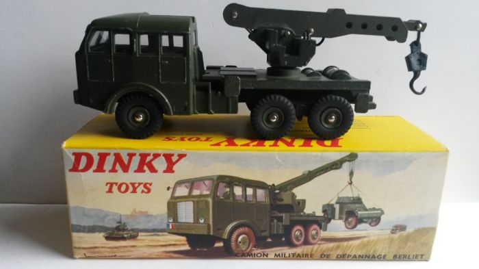 dinky toys france 1 43 camion militaire berliet de d pannage catawiki. Black Bedroom Furniture Sets. Home Design Ideas