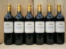 2008 Connetable de Talbot, 2nd wine Chateau Talbot St. Julien - 6 bottles (6x 0,75 ltr.)