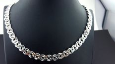 925  Sterling Silver Chain,Chain Length 60 cm, Total 54 g
