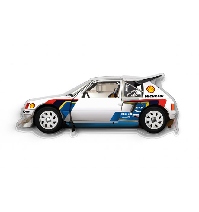 SL - Wall Scale Model Halmo Collection Peugeot 205 T16