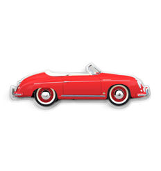SL - Wall Scale Model Halmo Collection Porsche 356 Speedster