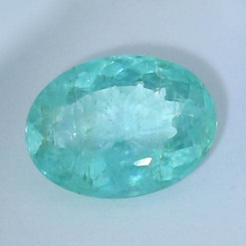 """ Neon Blue-Green "" Paraiba Tourmaline - 4.34 ct."