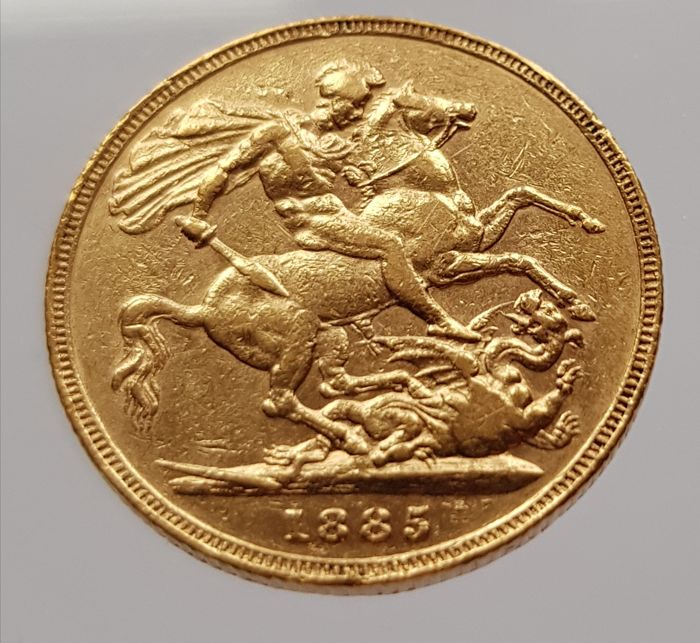 Great Britain - Sovereign 1885 - Victoria - gold