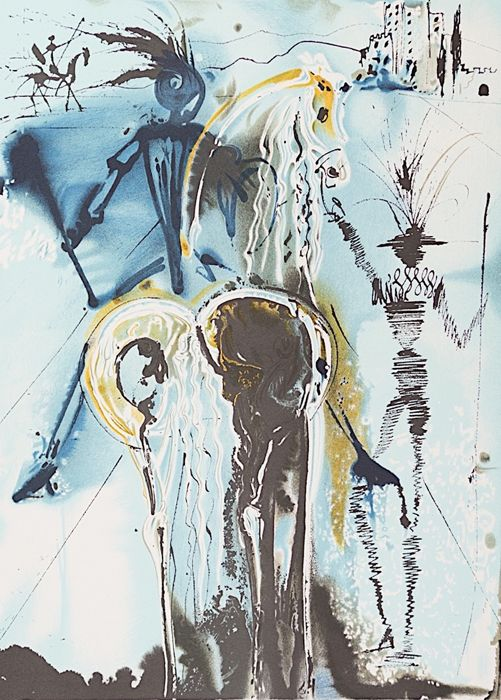 Salvador Dalí (after) - Don Quichotte