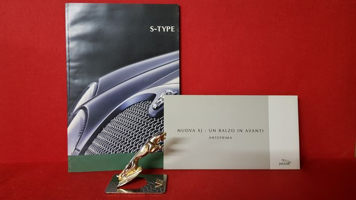Jaguar + 2 Brochures