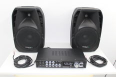 Audio set 2x 150W