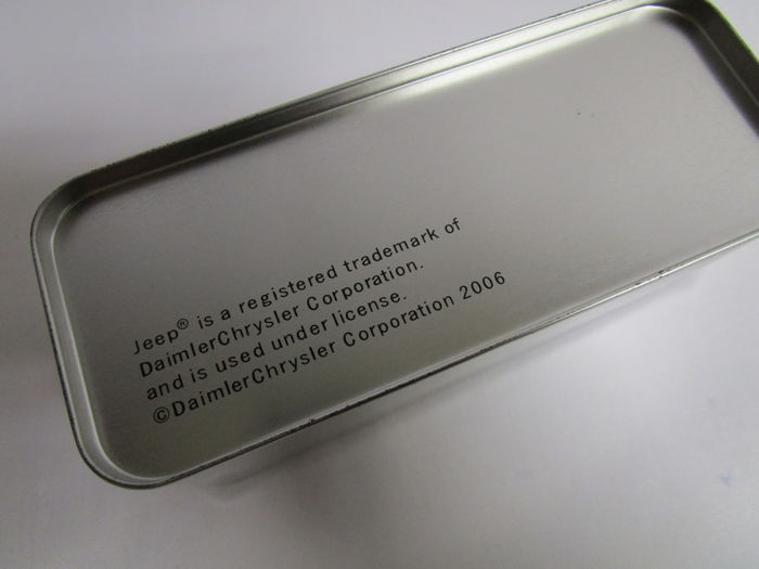 Jeep wristwatch 2006 official product daimler - Chrysler corporate office phone number ...