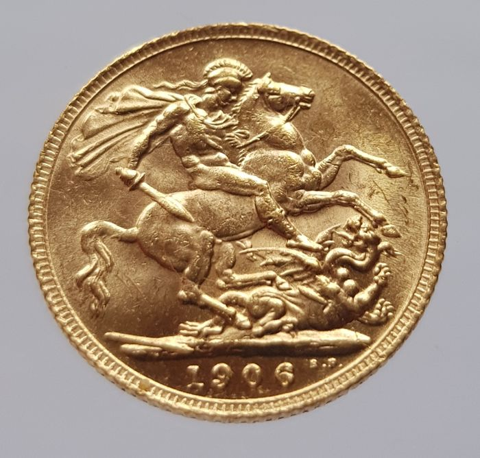 United Kingdom - Sovereign 1906 Edward VII - Gold