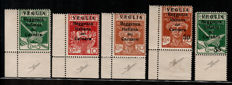 Italy 1920 - Fiume, Veglia - Selection of some series and values
