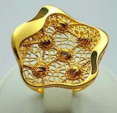 22 Ct Gold Ring ,New(Unused) **** NO RESERVE PRICE ****