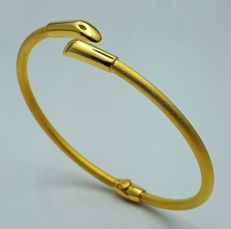 22 Ct Gold Bangle  , New(Unused)