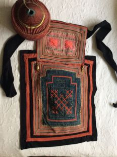Baby carrier and baby Hat-HMONG/China-1950