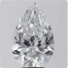 Gia 5.01 ct Pear Brilliant Diamond DIF TYPE 2A -Original Image-10X- Guaranteed Cheapest price online